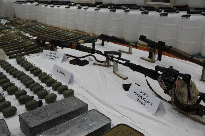 Sur'da Terör Örgütüne 'Cephane' Darbesi