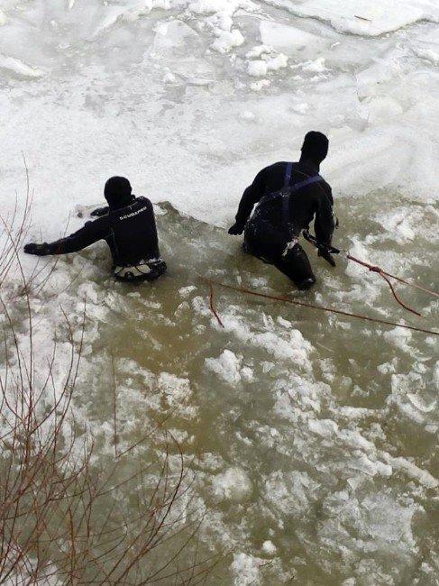 Çoruh Nehri'ne Düşen Çocuğu Arama Çalışmaları Sürüyor