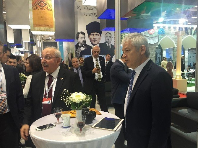 ETSO Başkanı Zıpkınkurt, EMITT Fuarı'nın Açılışına Katıldı