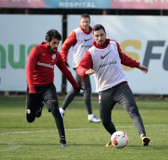 Galatasaray, Gaziantepspor Maçı Hazırlıklarını Sürdürdü