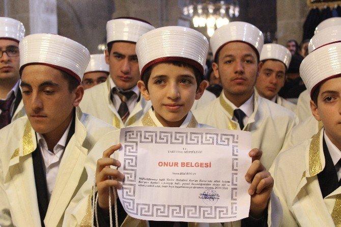 Erzurum'da 107 Hafız İcazet Aldı