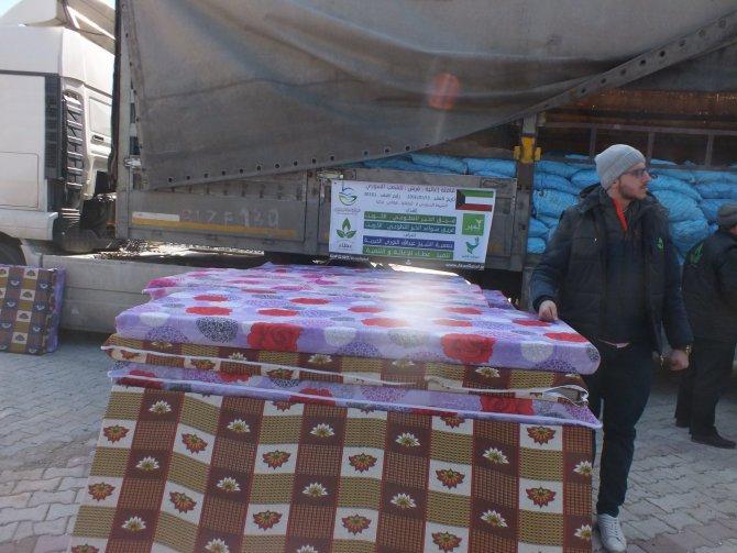 Kuveytli iş adamlarından Yayladağı'ndaki Suriyelilere yardım