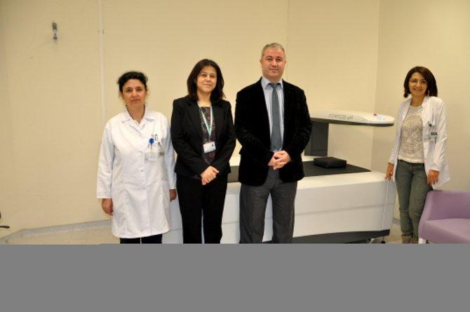 Karacabey Devlet Hastanesi'ne kemik ölçüm cihazı