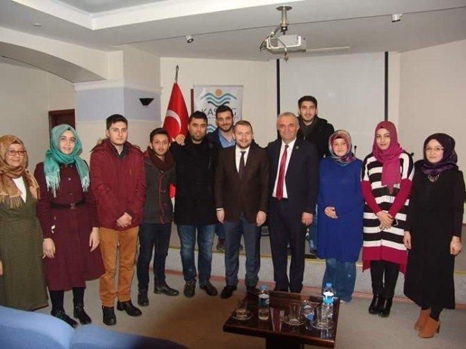 """Genç Girişimcilere Seslenen Daday Belediye Başkanı Taş:""""gençlere Her Türlü Desteği Vermeye Hazırız"""""""