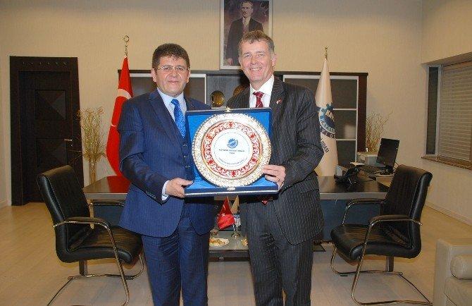 İngiltere'nin Ankara Büyükelçisi'nden KAYSO'ya Ziyaret