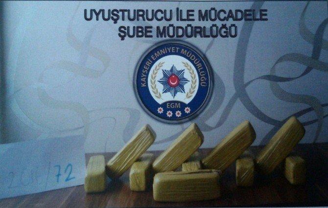Kayseri'de Uyuşturucu Operasyonunda 4 Gözaltı