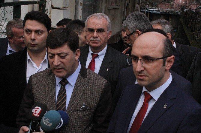 AK Parti Diyarbakır İl Başkanlığından Şehit Ailesine Ziyaret