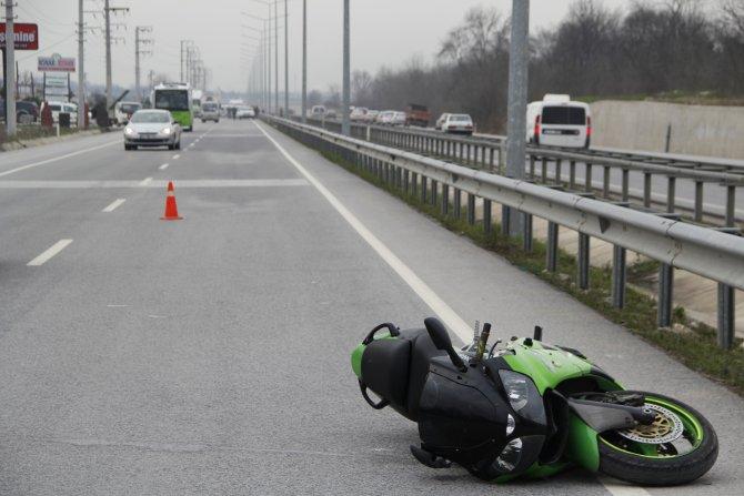 Motosiklette feci ölüm