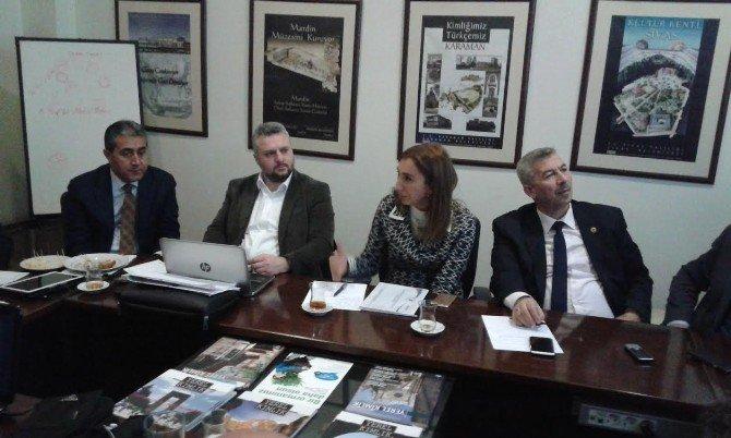 Büyükşehir Kudeb, Çekül Vakfı'nda Toplantı Düzenledi