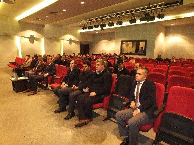 Muş Milli Eğitim Müdürü Arslan Malazgirt'te