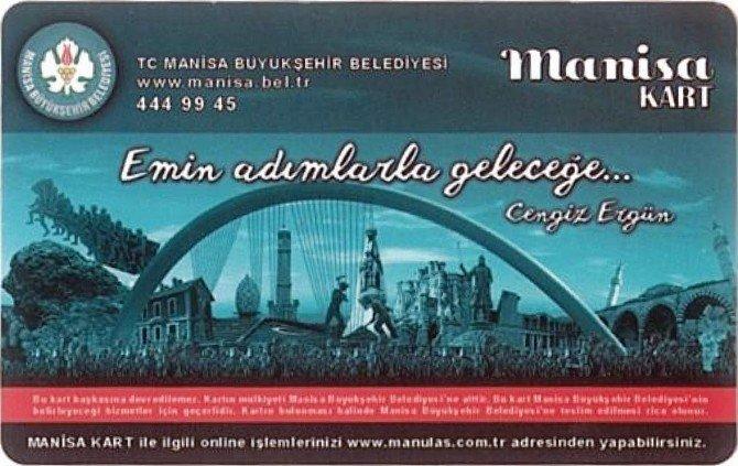 Manisa Büyükşehir'den Manisa Kart Açıklaması