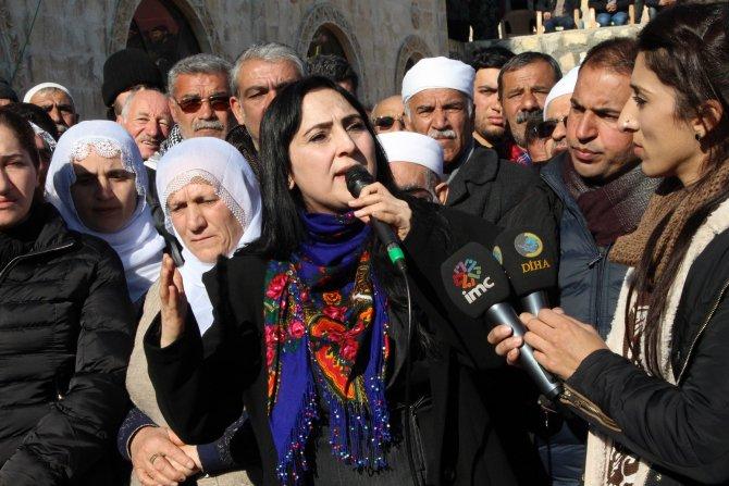 Nusaybin'de HDP Eş Genel Başkanı Figen Yüksekdağ'dan Botan'a destek açıklaması