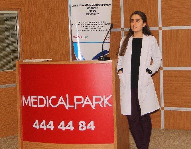 Elazığ'da Anne Ve Kızlarına Sağlık Semineri Verildi