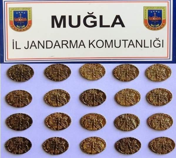 Muğla'da Tarihi Eser Operasyonu