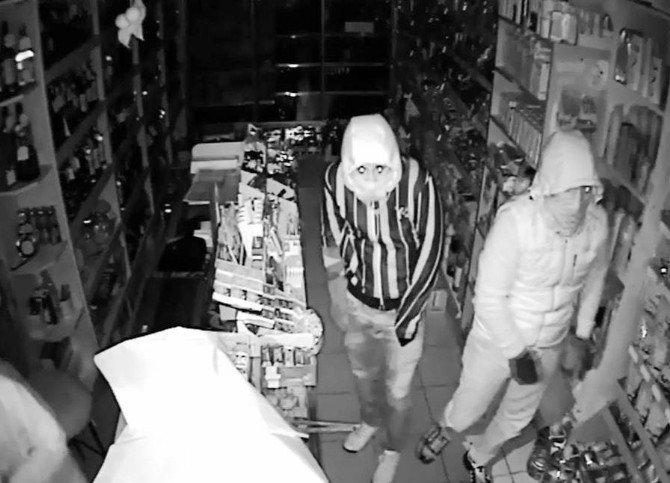 60 Bin Liralık Hırsızlık Kameralarda