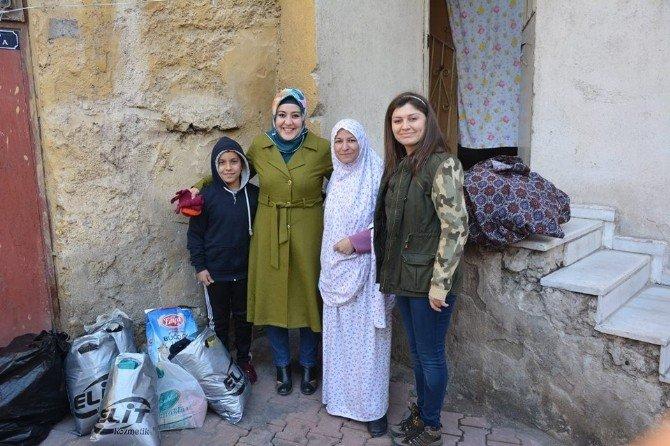 Niğde Gençlik Merkezinden Suriyelilere Yardım