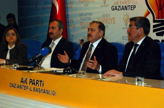 """Bakan Eroğlu: """"Son Terörist Etkisiz Hale Getirilene Kadar Mücadele Devam Edecektir"""""""