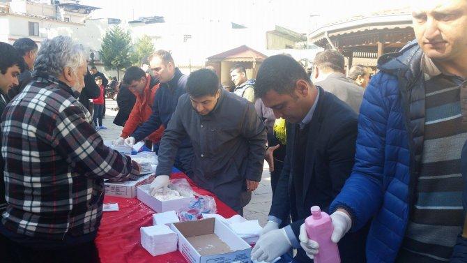 Osmaniye Merkez Camisinde şehitler için Mevlid-i Şerif okutuldu