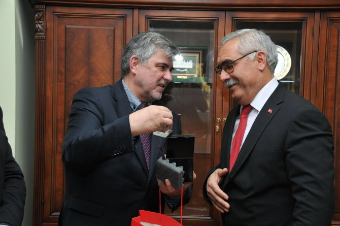 Polonya Ankara Büyükelçiliği Ticaret Müsteşarı Tarsus'ta