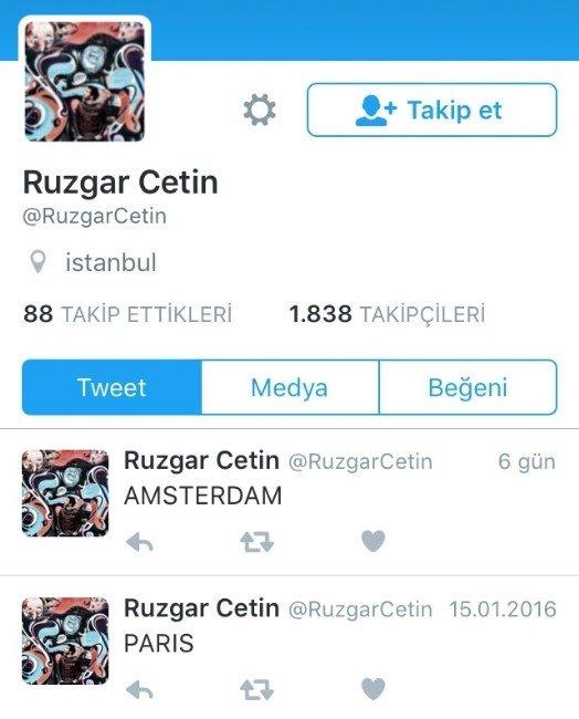 Rüzgar Çetin'in Tweeti Tartışılıyor