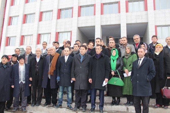 Erzurum AK Parti Teşkilatından Kılıçtaroğluna Suç Duyurusu