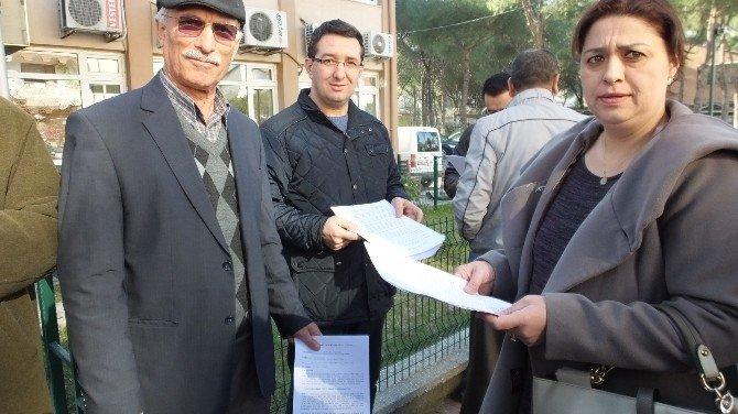 Burhaniye'de CHP Genel Başkanı Kemal Kılıçdaroğlu'na Suç Duyurusu