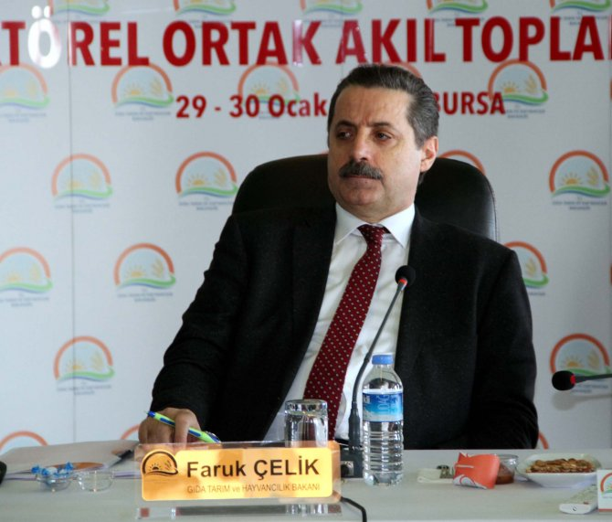 Tarım ve hayvancılık koordinasyon toplantısı Bakan Çelik başkanlığında başladı