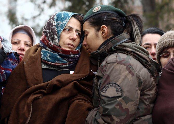 Şehit polis Tayfur, Ankara'da göz yaşlarıyla uğurlandı