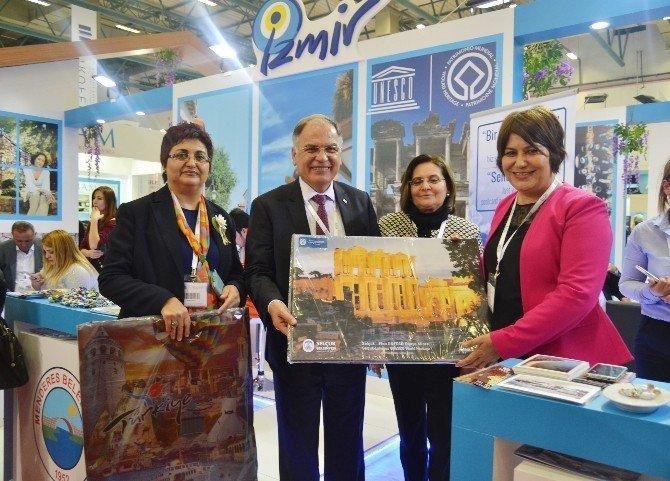 Selçuk'un Tarihi Güzellikleri Emitt'te Tanıtıldı