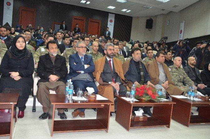 Afganistanlı Tarihçi TİKA'nın Düzenlediği Törenle Anıldı