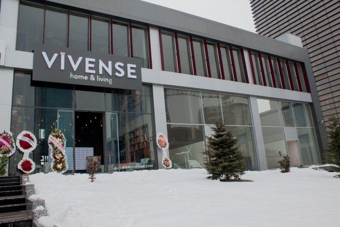 Online mobilya sitesi Vivense Ankara'da showroom açtı
