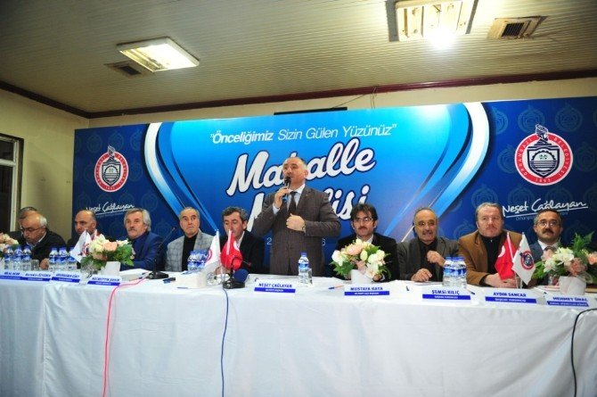 Yeni Sölöz'de Mahalle Meclisi Toplantısı