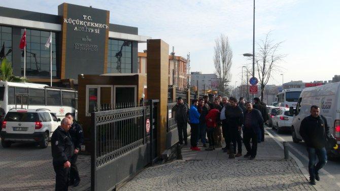 Gözaltındaki 29 Amedspor taraftarı adliyeye sevk edildi