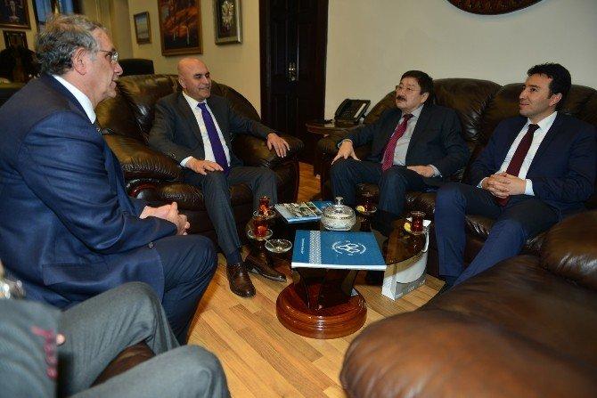 Türksoy'dan Korkut'a Ziyaret