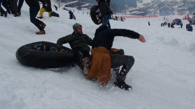 Kardan Adam Şenliği Başladı