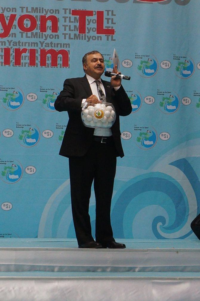 Adana'da 209 milyon TL'lik projenin temeli atıldı