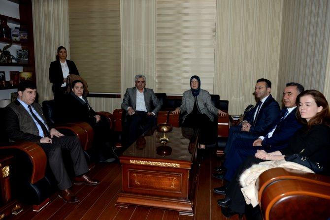 Bakan Ramazanoğlu, Diyarbakır Valiliği'ni ziyaret etti