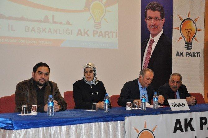 AK Parti Kars İl Başkanlığı'nca 'İl Danışma Kurulu Toplantısı' Yapıldı