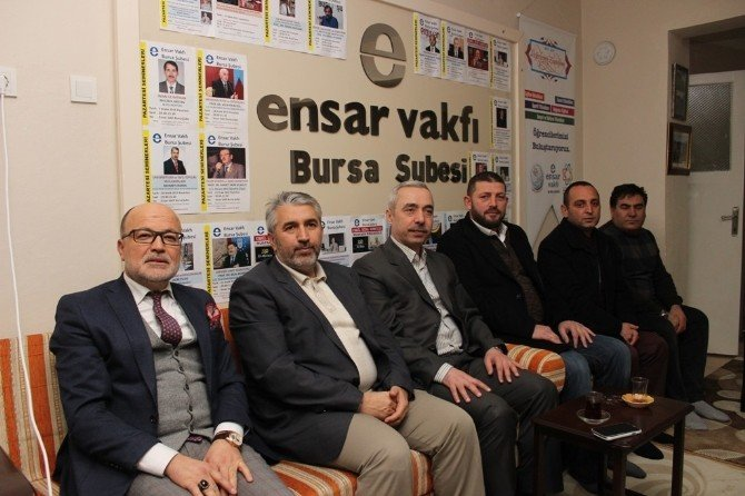 AK Parti Osmangazi'den Ensar Vakfı'na Ziyaret