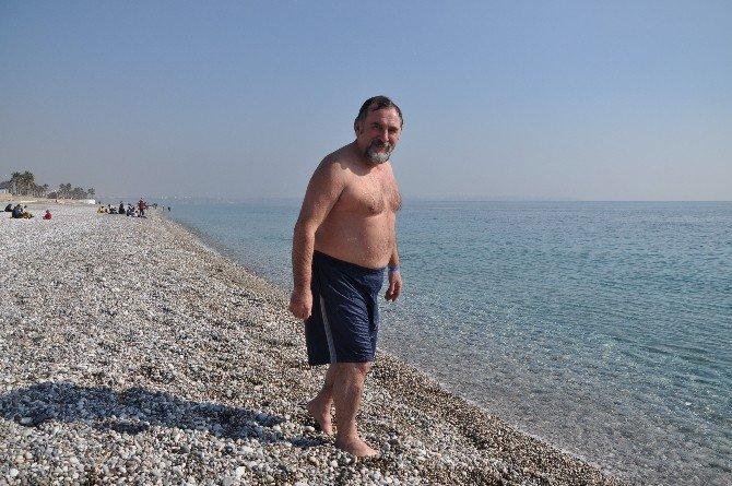 Antalya'da Ocak Sonunda Deniz Sefası