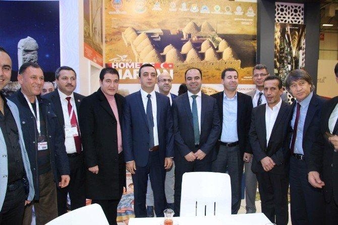 Başkanlar Emitt Fuarında Şanlıurfa'yı Tanıttı