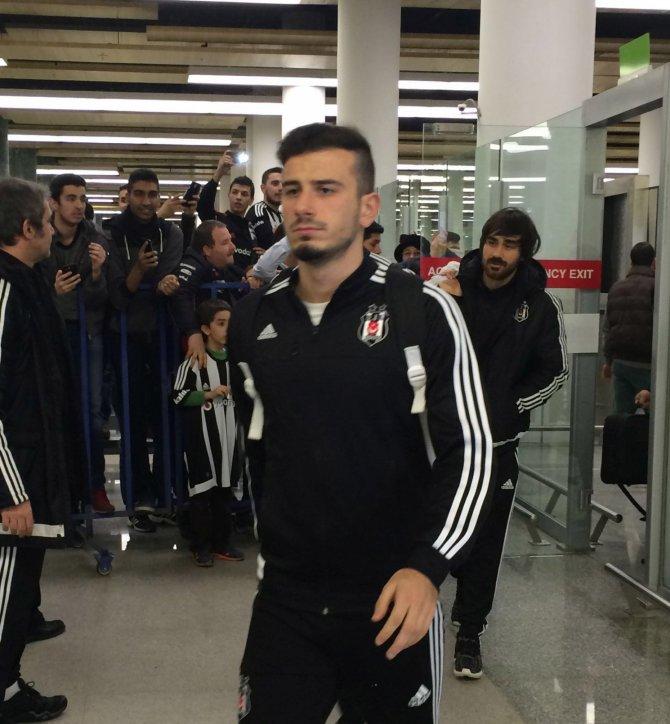 Beşiktaş, Bucaspor maçı için İzmir'e geldi