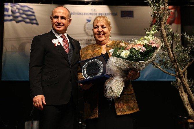 Başkan Akgün Ve Yunanistanlı Yöneticiler Zeytin Ağacı Dikti