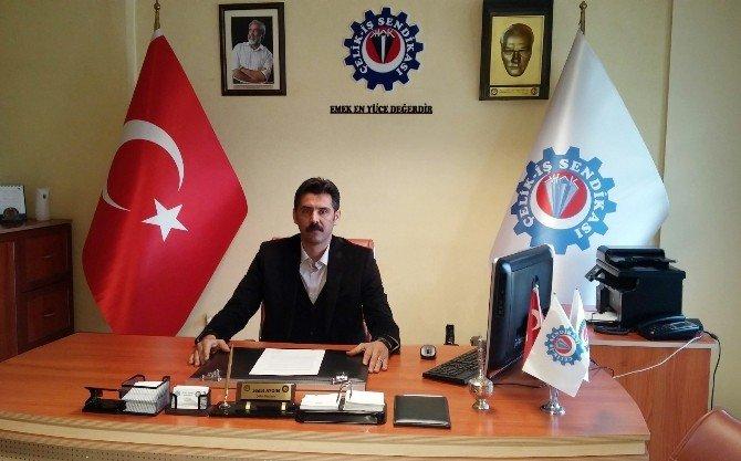 Çelik-iş Sendikası Adana Şube Başkanı Sedat Aydın: