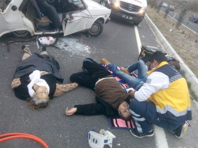 Denizli'de Kaza: 3 Ölü, 3 Yaralı