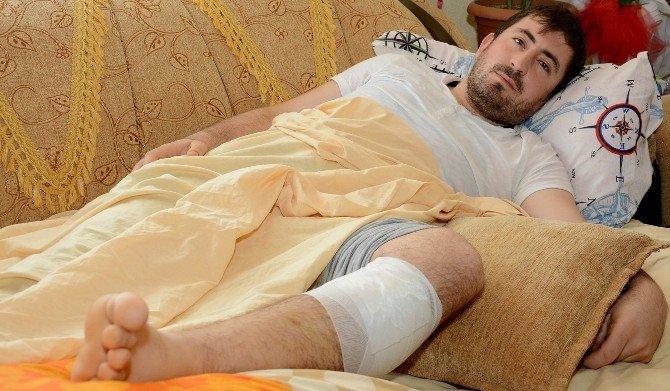 Bacağından Vurulan Uzman Çavuş Aksaray'daki Baba Evinde