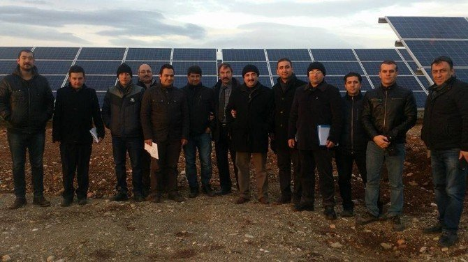 Türkiye'nin En Büyük Güneş Enerji Projesi'nin Geçici Kabulü Yapıldı
