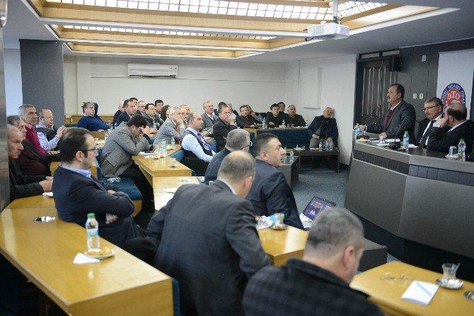 DTO Başkan Özer, Ekonomiyi Değerlendirdi