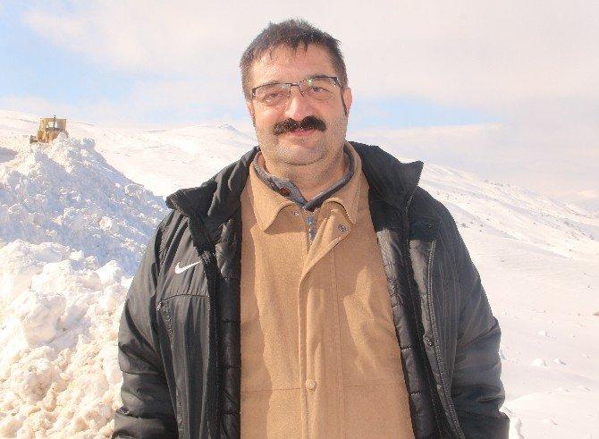 Elazığ'da Kapalı Köy Yollarının 520'si Açıldı
