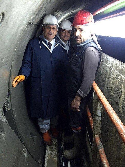 Vali Enver Salihoğlu Velimeşe Tüneli'ni İnceledi